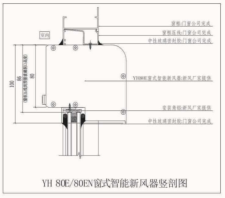 YH80E安装节点图1