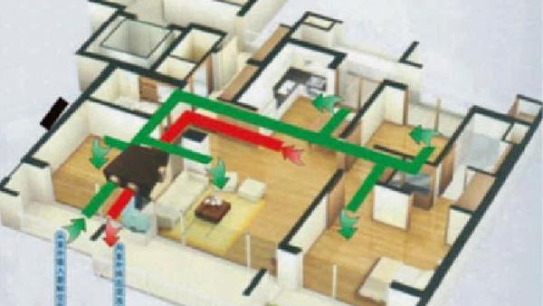 学校疗养院-大风量商业用-新风换气方案