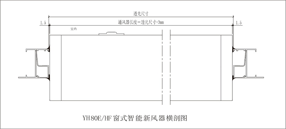 YH80HF安装节点图