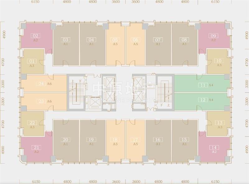3942深圳恒邦时代大厦户型图
