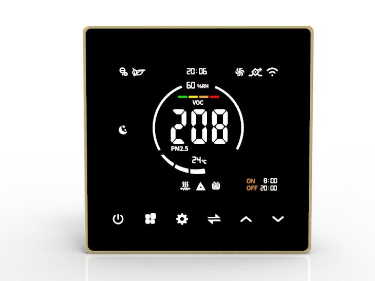 新风机液晶感应控制器KZ19